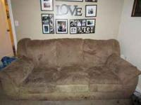 We are moving and need to sell our couch. It is a brown