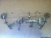 "2009 Browning Illusion TC compound bow. 29"" draw length"