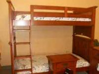 BRAND NEW BROYHILL BUNKBED, DRESSER & NIGHTSTAND...ONLY