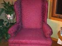 Traditional Broyhill high back chairs, excellent