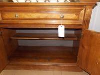 1960's Broyhill 4-drawer desk with formica top. Great