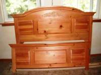 Queen Head & Footboard, 2 night stands, and a large