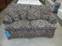 We are marketing a lovely Broyhill passion seat. The