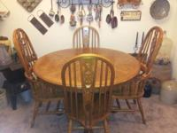 Broyhill Table Solid Oak  It is  brand new only 6