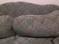 Type: Living RoomGood cond. overstuffed couch no splits