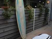 BRUCE JONES 7-6 HYBRID SURFBOARD (WITH CARRYING CASE