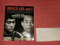 SIGNED - Bruce Lee and I : An Intimate Portrait by