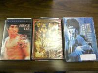 I have a Bruce Lee Ultimate Collection of 5 dvd's and