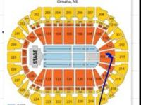 I have 4 tickets together in the Lower Bowl, Section