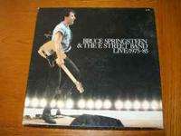 i have a set of the bosses records Bruce Springsteen &
