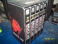 This is a box set of Bruce Lee Movies on- VHS. The
