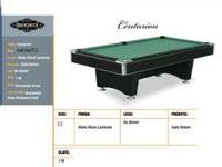 Centurion Brunswick pool table over sized 8 foot with