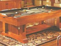 BRUNSWICK GOLD CROWN IV POOL TABLE IN EXCELLENT CONDION