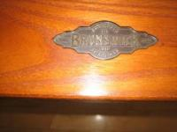 High End /Top Quality Brunswick Mission Oak 8' Pool