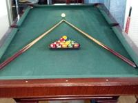 Great For Man Cave!!!! Brunswick Pool table This is a