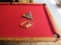 I have a brunswick dakota II swimming pool table that i