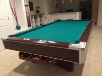 Lovely Brunswick 9 ft slate tournament size
