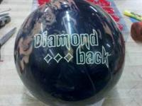 This is a used #15 Brunswick Diamondback in good