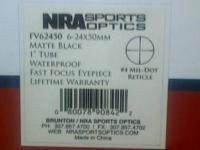 NRA Sports Optics by Brunton Rifle scope Model FV62450