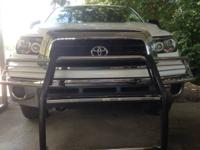 For sale: brush guard,projector head lights,carpeted