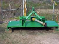John deere 8 ft brush hog  Location: Galveston