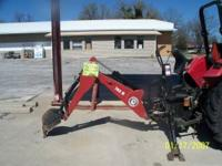 BRUSH HOG BRAND BACKHOE ATTACHMENT MODEL 762H USED VERY
