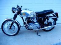 LAST OF THE REAL BSA'S, 1963 650 SUPER ROCKET IN