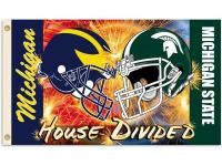 Show everyone that your house is divided by die-hard