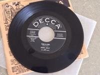 Decca 30650 Very Rare 45 Vinyl release 23 of June 1958