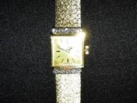 Beautiful And Extremely RARE Bucherer 18k Yellow Gold