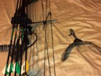 I have a buck shot bow for left handed people for sale