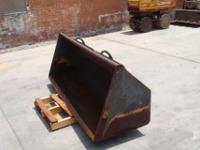 front loader bucket for ford 445D, buyer responsible
