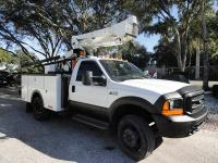 Stock # M031501 2000 Ford F550 4x4 41ft Bucket Truck