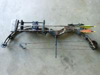 Selling my Buckmaster compound bow with wrist strap