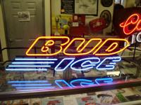 New in box-Bud Ice Fluorescent Light-3' long.  Come see