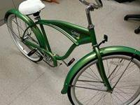 bud light lime beach cruiser, very cool... back