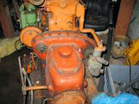 This marine diesel BUDA engine was designed for the