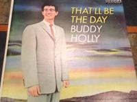 "Buddy Holly That"" ll Be The Day Decca Dl8707 LP April"