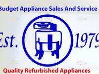 BUDGET APPLIANCE-- Est-1979 Remember when home