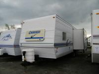 Here is a very nice 26ft camper with a slideout. Its an