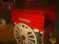 Budweiser cart for sale mint condition great