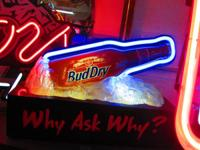BUDWEISER DRY  $49.00   BUD LIGHT NEON $99.00