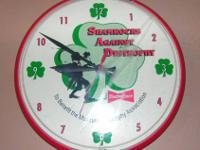 I have for sale for $30 a rare Budweiser shamrocks