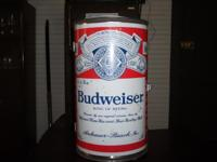 Descripción vintage budwesier beer can style cooler
