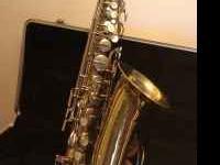 Buescher Aristocrat alto Saxophone. Purchased new in