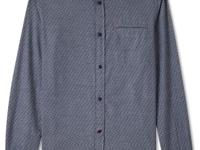 Rock this dot-print chambray shirt from Buffalo David