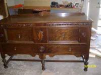 buffet oak over 100 tears old 100.00 obo call  after