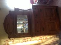 Antique buffet. Early 1900's. Original finish. Good