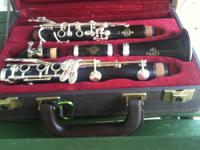 This Buffet E-11 wood clarinet has been kept in