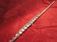 This is a Buffet flute that has been completely